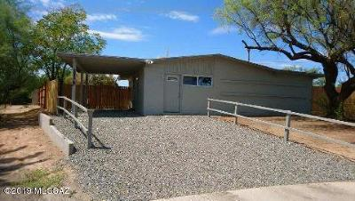 Tucson AZ Single Family Home Active Contingent: $130,000