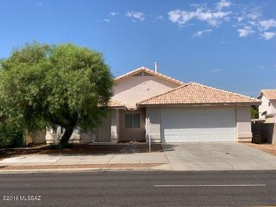 Tucson AZ Single Family Home For Sale: $255,000