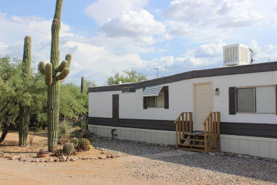 Pima County Manufactured Home For Sale: 13465 E Garigans Gulch