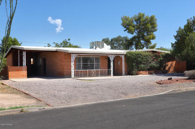 Pima County Single Family Home For Sale: 5359 E Baker Street
