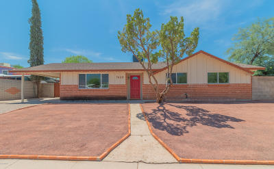 Pima County Single Family Home For Sale: 7418 E 20th Street