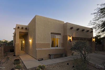 Tucson Single Family Home Active Contingent: 3061 W Desert Bird Court
