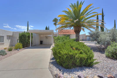 Pima County Townhouse For Sale: 1153 S Alpine Circle