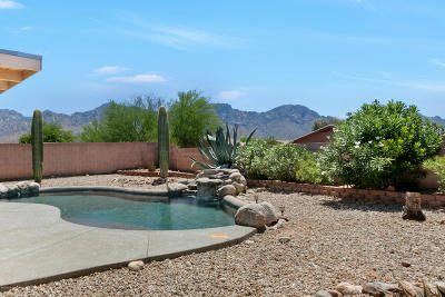 Oro Valley Single Family Home Active Contingent: 2556 E Steppe Court