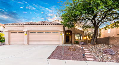 Tucson Single Family Home Active Contingent: 841 N Western Ridge Trail