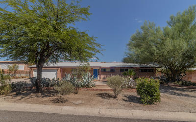 Tucson Single Family Home For Sale: 4321 E Holmes Street