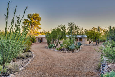 Tucson Single Family Home For Sale: 5350 N Via Celeste