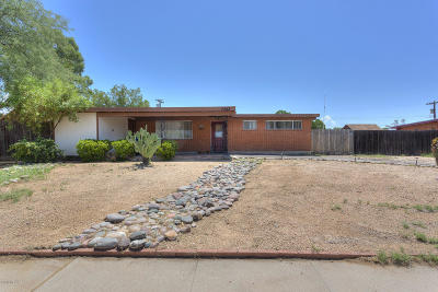 Tucson Single Family Home For Sale: 7342 E 28th Place
