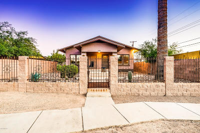 Pima County Single Family Home For Sale: 522 E Helen Street