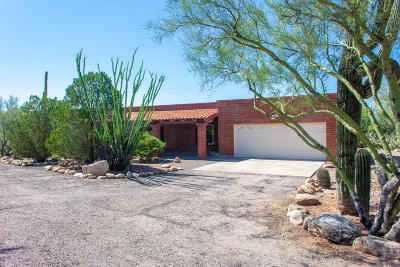 Pima County Single Family Home For Sale: 7010 N Doane Drive