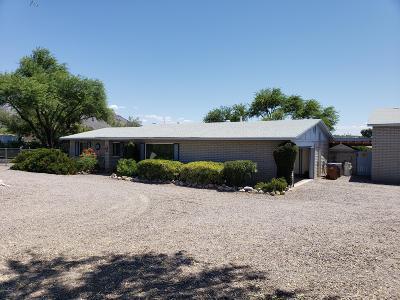 Pima County Single Family Home Active Contingent: 1571 W Placita Senda Chula