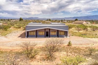 Cochise County Single Family Home For Sale: 6595 S Moson Road