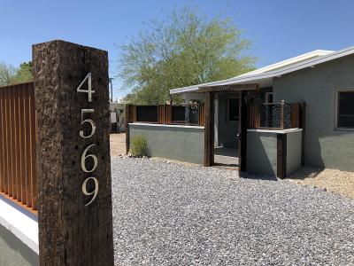 Tucson Single Family Home For Sale: 4569 E 5th Street