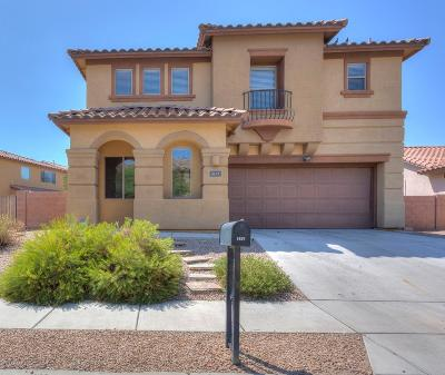 Tucson Single Family Home For Sale: 1637 W Green Thicket Way