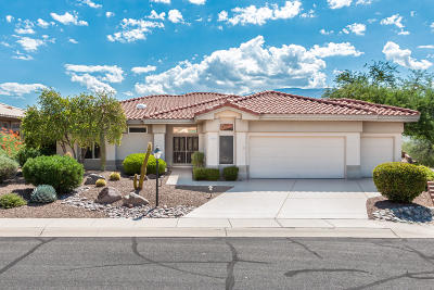 Single Family Home Active Contingent: 14630 N Desert Rock Drive