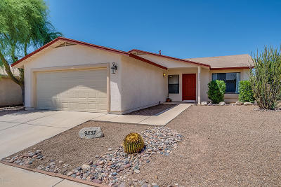Pima County Single Family Home For Sale: 9837 N Camino Vado