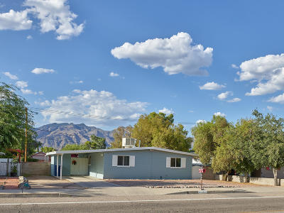 Pima County Single Family Home For Sale: 4349 E Glenn Street