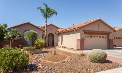 Tucson Single Family Home For Sale: 7676 W Madrigal Drive