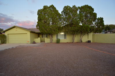Tucson Single Family Home For Sale: 616 N Jasmine Place