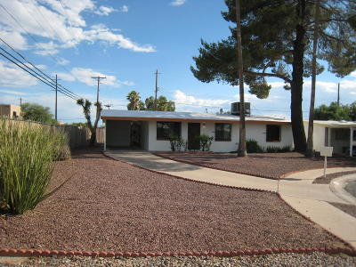 Tucson Single Family Home For Sale: 901 W King Street
