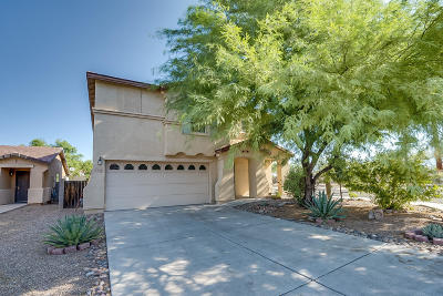 Tucson Single Family Home For Sale: 2112 W Morning Jewel Place