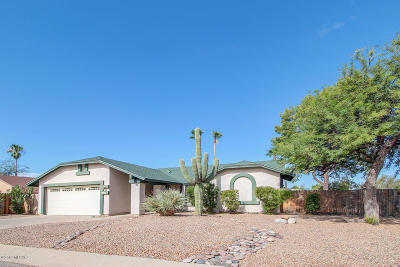 Tucson Single Family Home For Sale: 4806 W Candleberry Way