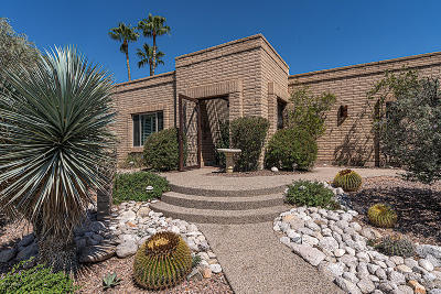 Tucson Single Family Home Active Contingent: 3625 N Longwood Place