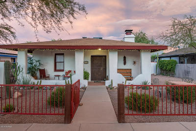 Tucson Single Family Home For Sale: 651 S 9th Avenue