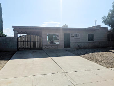 Pima County Townhouse For Sale: 3644 S Marvin Place