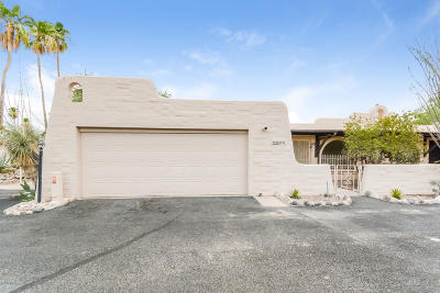 Tucson Townhouse For Sale: 5232 N Tigua Drive