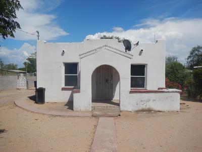 Tucson AZ Single Family Home For Sale: $67,600