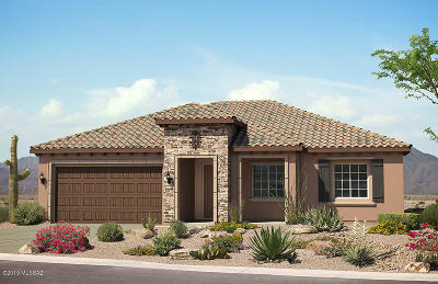 Marana Single Family Home For Sale: 6881 W Cliff Spring Trail