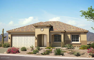 Marana Single Family Home For Sale: 6891 W Cliff Spring Trail