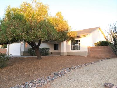 Tucson Single Family Home Active Contingent: 8950 N Soft Winds Drive