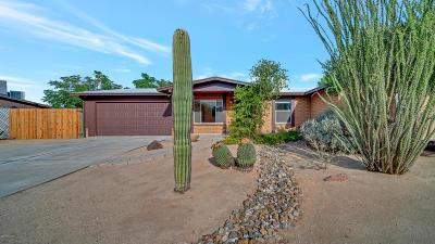Tucson Single Family Home Active Contingent: 7833 N Soledad Avenue