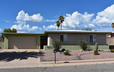 Tucson Single Family Home Active Contingent: 1637 S Palm Springs Circle
