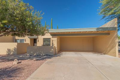 Pima County Townhouse For Sale: 7753 E Rosewood Street