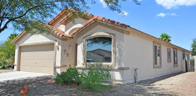 Oro Valley Single Family Home Active Contingent: 134 W Alyssa Canyon Place