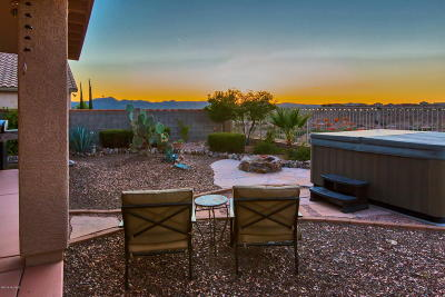 Saddlebrooke Single Family Home Active Contingent: 39292 S Mountain Shadow Drive
