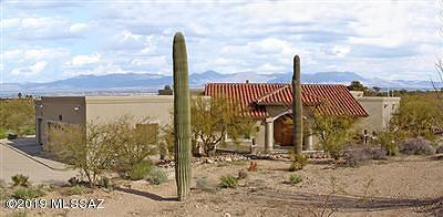 Tucson Single Family Home Active Contingent: 6230 Tucson Mountain Drive