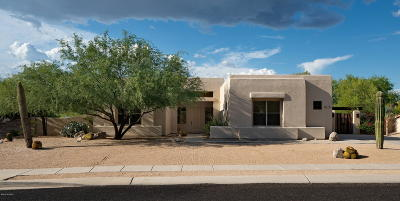Pima County, Pinal County Single Family Home Active Contingent: 11001 E Monument Estates Circle