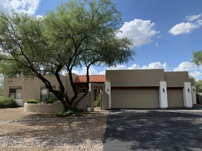 Tucson Single Family Home Active Contingent: 12341 E Cape Horn Drive