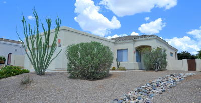 Oro Valley Single Family Home For Sale: 13950 N Bentwater Drive