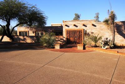 Tucson Single Family Home For Sale: 6909 N Nanini Drive