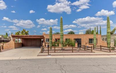Tucson Single Family Home Active Contingent: 8975 E Maple Leaf Drive