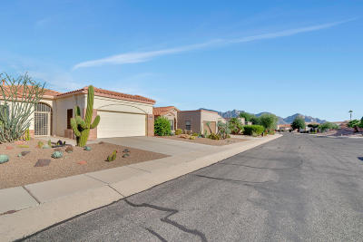 Oro Valley Single Family Home Active Contingent: 14340 N Rusty Gate Trail