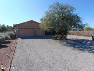 Tucson Single Family Home For Sale: 16181 W Chumblers Road