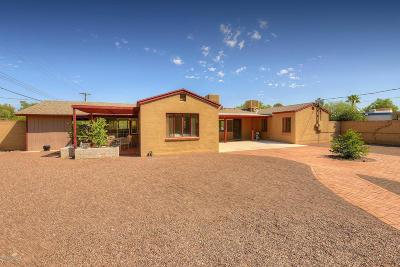 Tucson Single Family Home For Sale: 3802 E Calle Ensenada
