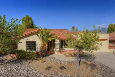 Oro Valley Single Family Home Active Contingent: 14510 N Crown Point Drive
