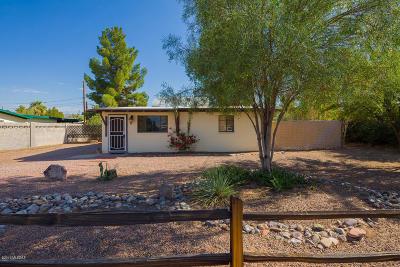 Tucson Single Family Home Active Contingent: 3541 E Monthan Stravenue